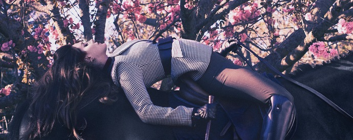 Lana na obálce časopisu V Magazine