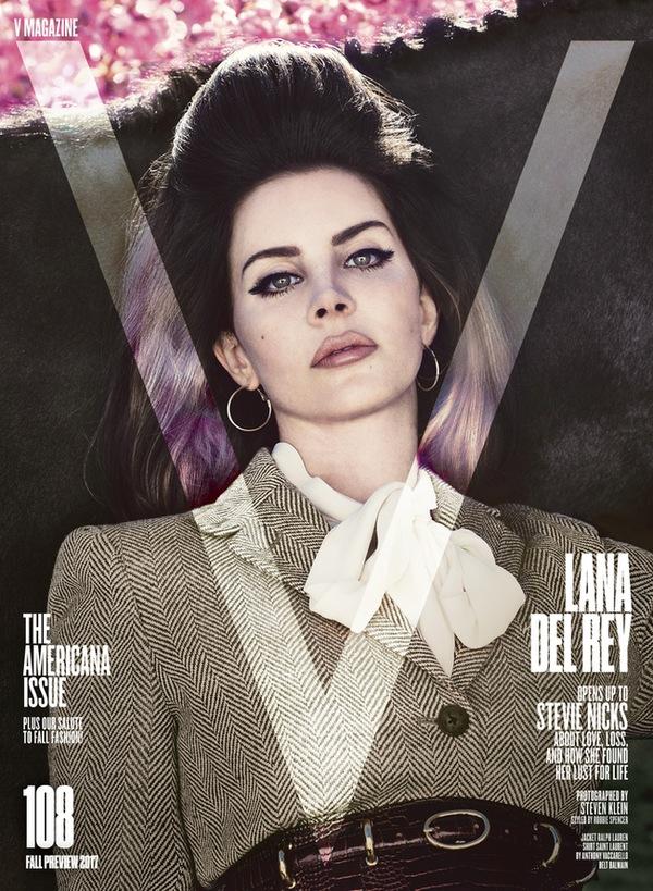 Obálka časopisu V Magazine