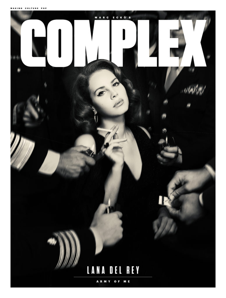 Obálka časopisu Complex