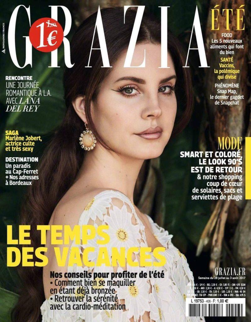 Obálka časopisu Grazia