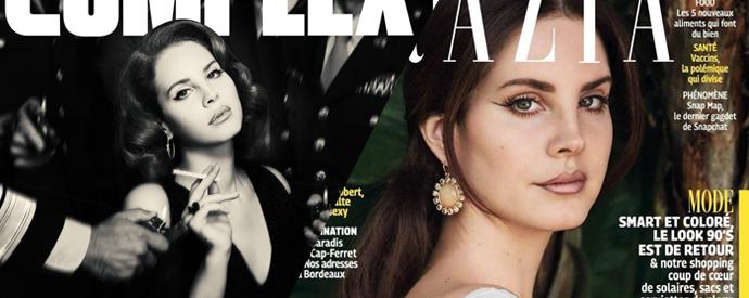 Obálky časopisů Complex a Grazia